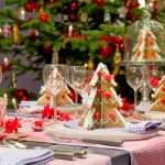 Adorable Christmas Table Decorations Ideas