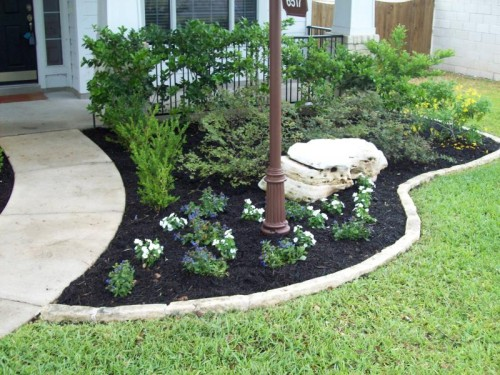 After Were Able Move And Replace Few Key Shrubs Added