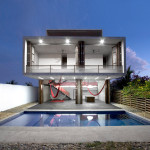 Amazing Modern House Swimming Pool Exterior Design Nice Home