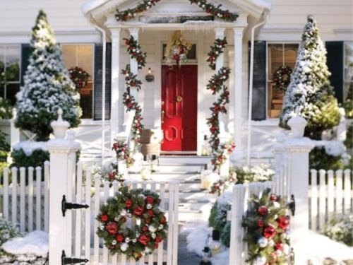 Amazing Outdoor Christmas Decorations Home House Design