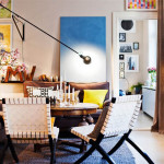 Amazing Stockholm Apartment Eclectic Style Living Room