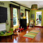 Among The Bright Colors Help Create Sophisticated Playroom