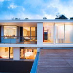 And Airy Waterfront House Design Hunters Hill Digsdigs