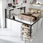 And Bunk Beds For Teenagers Smart Bed Loft Ideas