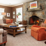 And Chocolate Brown Living Room Ideas Home Interiors Design
