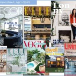 And Profane Designs The Newsstand Home Decor Magazines April