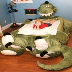 Animal Shape Toddler Bed Funny Design For Rex