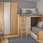 Another Small Bedroom Idea For Double Deck Beds This One The