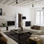 Apartment Barcelona Gothic Quarter Living Room Decorating Ideas