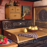 Apartment Decorating Ideas Turn Your Electric Stovetop Into Counter