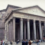 Architecture Graph The Pantheon Rome Today Exterior