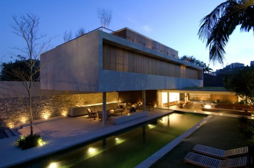 Architecture Home Design House Marcio Kogan