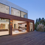 Architecture Modern Beverly Hills House Wood Glass And Stone