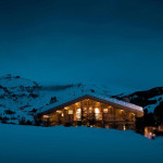 Architecture Revised French Alps Mountain Cabin Chalet Cyanella