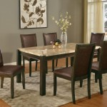 Archstone Marble Top Dining Table Set