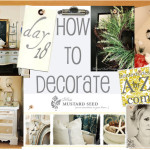 Are Our Final Week How Decorate Series And