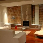 Are Various Ideas Decorating Fireplace Wall Outside There