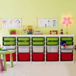 Arranging The Toys Ikea Storage Wal
