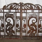 Art Deco Cast Iron Gates Wall Decor Architectural Salvage Online