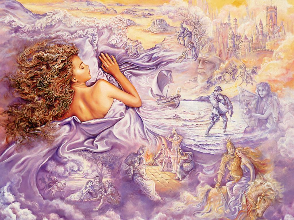 Art Josephine Wall Oil Painting Well Known English Painter