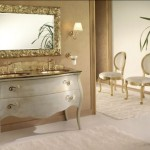 Artistic Classy Italian Bathroom Mirror Interior Design Ideas