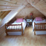 Attic Bedroom Design For Double Beds Interior Gallery