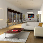 Attractive Modern Minimalist Living Room Designs Pictures