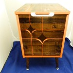 Awesome Bedside Table From Esty Log Home Furniture Decor