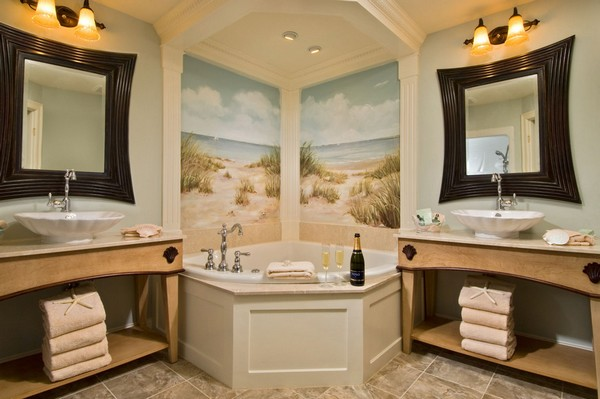 Back Post Western Bathroom Decor For Natural Thing