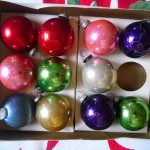 Balls And Glitter Teardrop Ornaments Are Unmarked Come Out