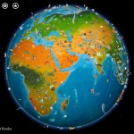 Barefoot World Atlas Review Beautifully Interactive Globe