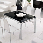 Baron Metal Extendable Dining Table Tables