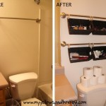 Baskets Above Toilet For Small Spaces The Home