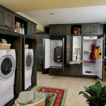 Bath One Powder Room Mudroom Laundry The Floor And