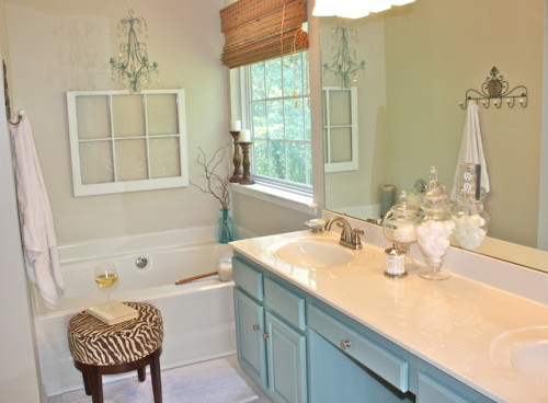 Bath Redesign Eclectic Bathroom Charlotte Simplicity