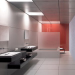 Bathroom Design And Decoration Layout Concept