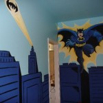 Batman Bedroom Cor Door