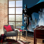 Batman Bedroom Cor Wood Window Seats
