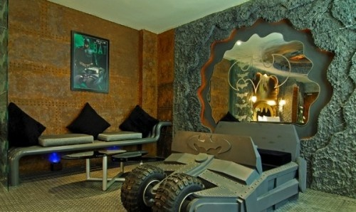 Batman Bedrooms