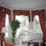 Bay And Corner Windows Traditional Window Treatments Other Metro