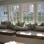Bay Window Seat Cushions And Misc Pillows Flickr