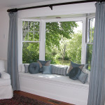 Bay Window Seat Pillows Panels And Chair Slipcover Flickr