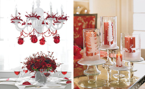 Beautiful Christmas Table Decorating Ideas Home Office Decoration