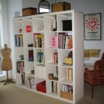 Beautiful Ikea Bookcase Expedit Room Divider