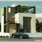 Beautiful Modern Contemporary House Renderings Indian Home Decor