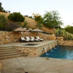 Beautiful Outdoor Landscaping Ideas Classic Swimming Landscape