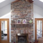 Beautiful Stone Fireplace Your Home Design