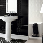 Beautiful Wall Tiles For Black And White Bathroom York Novabell
