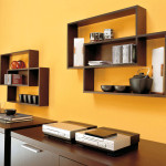 Beauty Your Home Contemporary Wooden Wall Shelves Ideas