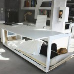 Bed Furniture Transforming New York Compact Bedroom